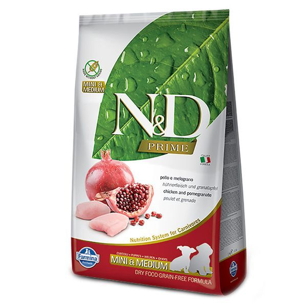 Farmina N&D Prime Chicken & Pomegranate cho chó con size nhỏ 2.5kg
