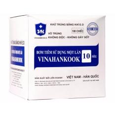 10 Bơm tiêm Vinahankook 10ml nhập khẩu