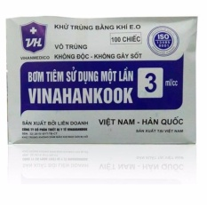 10 Bơm tiêm Vinahankook 3ml