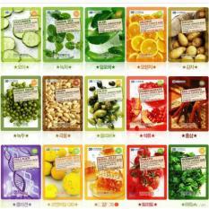 10 miếng Mặt nạ 3D Foodaholic (Mix 10 Vị)