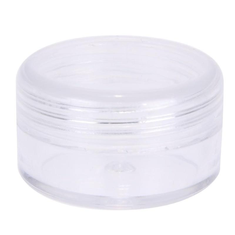 12 cái 5 ml Nhỏ Nhựa Trong Hũ Đựng Đựng Kem Mỹ Phẩm Thủ Công-quốc tế nhập khẩu