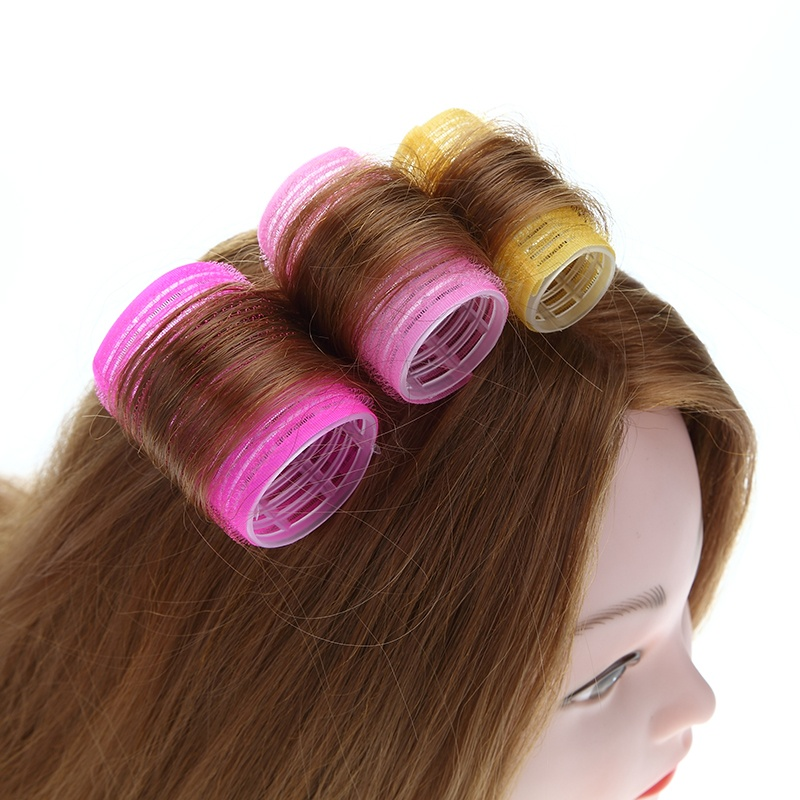 15pcs/lot Hairdressing Home Use DIY Magic Large Self-Adhesive Hair Rollers Styling Roller Roll Curler Beauty Tool 3 Size - intl nhập khẩu