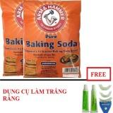 2 Bịch Bột Baking Soda Đa 454G Tặng Dụng Cụ Lam Trắng Răng Tại Nha Kim Sơn Chiết Khấu 50