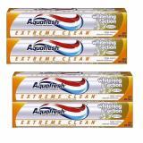 Ôn Tập 4 Hộp Kem Đanh Răng Aquafresh Extreme Clean Whitening Action 158 7G