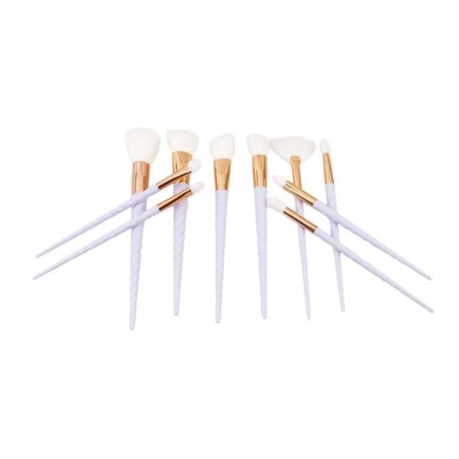 ... Ai Home 10pcs Unicorn Thread Makeup Cosmetic Brushes Set (White) - intl ...
