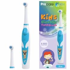 Bàn chải đánh răng điện dùng pin Procare cho trẻ em - màu xanh