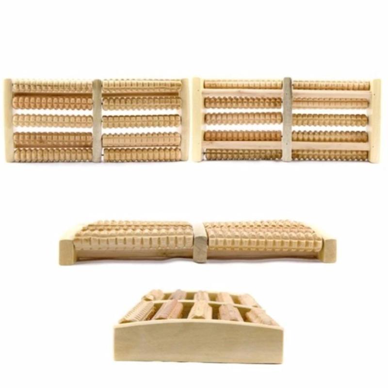 Bàn dụng cụ massage chân bằng gỗ cao cấp nhập khẩu