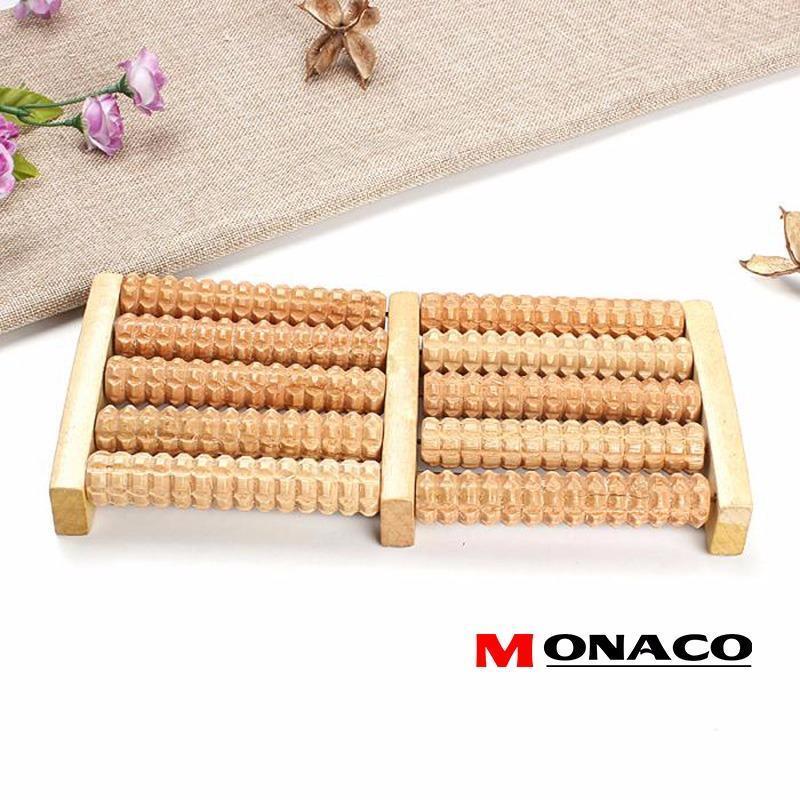 Bàn Lăn Massage Chân Gỗ 5 Hàng Monaco nhập khẩu