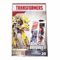 Băng cá nhân 20 miếng cho bé ASO Transformers Adhesive Sterile Bandages nhập khẩu