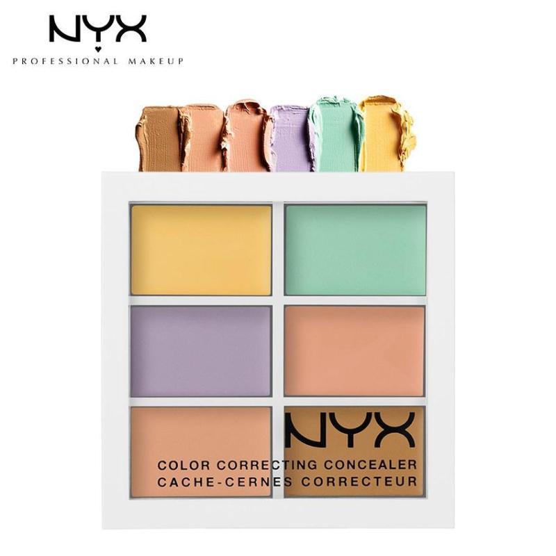Bảng Che Khuyết Điểm, Tạo Khối, Tạo Sáng NYX Professional Makeup Conceal.Correct.Contour 3CP04 1.5g nhập khẩu