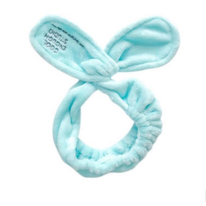 Băng đô tóc tai thỏ phong cách Hàn Quốc đáng yêu (Xanh)