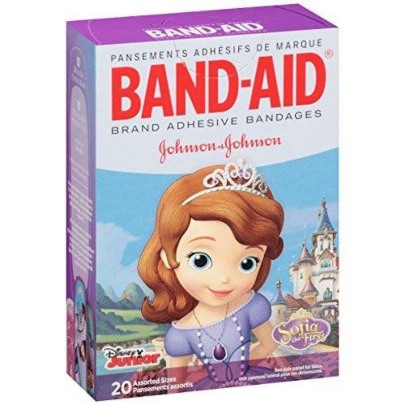 Băng keo cá nhân 20 miếng BAND-AID Disney Sofia Princess