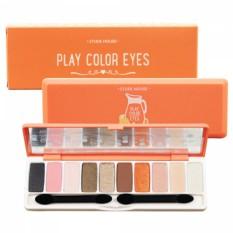 Bảng Phấn Mắt 10 Mau Etude House Play Color Eyes Juice Bar 1Gx10 Nguyên