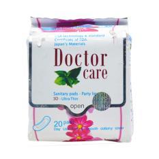 Băng vệ sinh thảo dược hàng ngày Doctorcare (20 miếng/gói) chính hãng