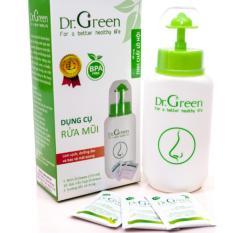 Giá Bán Binh Rửa Mũi Dr Green Kem 10 Goi Muối Nha Đam Trực Tuyến