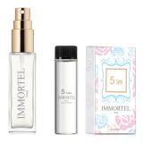 Ôn Tập Tốt Nhất Bộ 1 Chai Xịt Va 1 Refill Nước Hoa Nữ Immortel 5Sens Eau De Parfum 8Ml