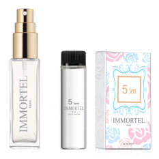 Bộ 1 chai xịt và 1 refill Nước hoa nữ IMMORTEL 5Sens Eau De Parfum 8ml
