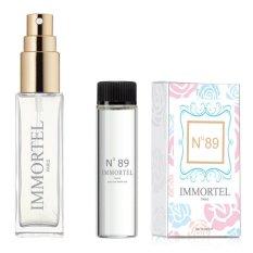 Bộ 1 chai xịt và 1 refill Nước hoa nữ IMMORTEL No89 Eau De Parfum 12ml