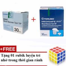 Ôn Tập Bộ 1 Hộp Kim Va 01 Que Cho May Đường Huyết Terumo Medisafe Fit Tặng 01 Rubik Mới Nhất