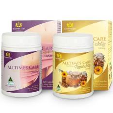 Ôn Tập Bộ 1 Hộp Vien Uống Giảm Can Alltimes Care Platinum Weightloss 3300Mg 50V 1 Hộp Vien Uống Sữa Ong Chua Alltimes Care 60V