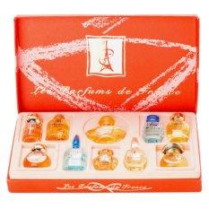 Giá Bán Bộ 10 Chai Nước Hoa Les Perfums De France Charrier Parfums Rẻ