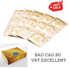 Hình ảnh Bộ 10 chiếc bao cao su giá rẻ dành cho gia đình VRT Excellent