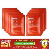 Bán Bộ 10 Goi Mặt Nạ Trị Mụn Dưỡng Trắng Da Lam Mờ Vết Tham By Wishtrend Natural Vitamin C 21 5 Enhancing Sheet Mask 23G X10