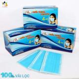 Giá Bán Bộ 10 Hộp Khẩu Trang Y Tế 100 Vải Lọc 4 Lớp Nam Anh Famapro Xanh Trong Hồ Chí Minh