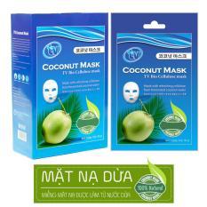 Chiết Khấu Bộ 10 Mặt Nạ Dừa Sinh Học Dưỡng Da Chống Lao Hoa Tv Coconut Mask Có Thương Hiệu