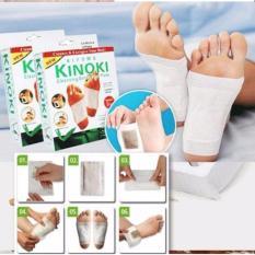 Bộ 10 miếng dán giải độc massage chân Kinoki cao cấp ( Có clip ) - BetterLife tốt nhất