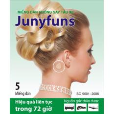 Bộ 10 Miếng Dan Thảo Dược Chống Say Tau Xe Junyfuns Ginkgomin Chiết Khấu 50