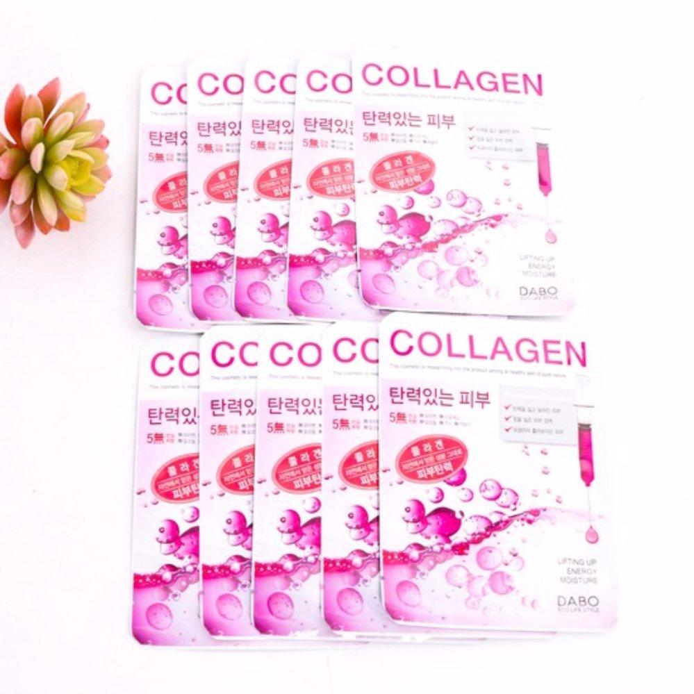 Chỗ bán Bộ 10 miếng mặt nạ Collagen Tái tạo và phục hồi da chống lão hóa Cao cấp Hàn Quốc 23ml – Hàng Chính Hãng