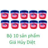 Bộ 10 Sap Dưỡng Moi Vaseline Rosy Lips Therapy 7G Vaseline Chiết Khấu