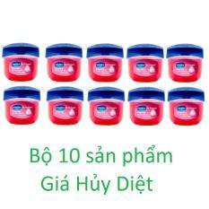 Giá Bán Bộ 10 Sap Dưỡng Moi Vaseline Rosy Lips Therapy 7G Vaseline Hồ Chí Minh