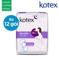 Bộ 12 Goi Kotex Sieu Mềm Ban Đem 28Cm 4 48 Kotex Chiết Khấu 50