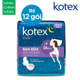 Mua Bộ 12 Goi Kotex Style Lst Canh Đem 28Cm Rẻ