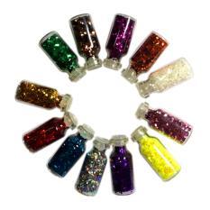 Nơi mua Bộ 12 hộp kim tuyến tạo mẫu nail