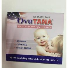 Bộ 12 que thử phát hiện trứng rụng OvuTana nhập khẩu