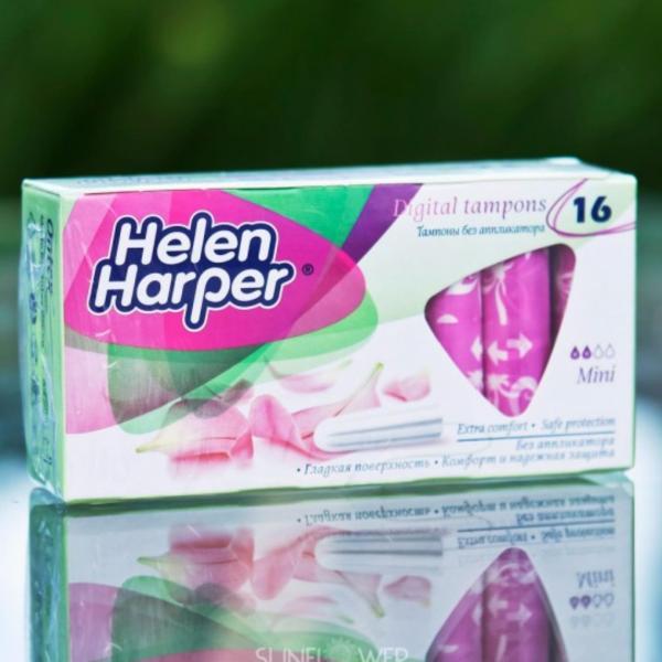 Bộ 2 Băng Vệ Sinh Helen Harper TAMPON-MINI 16 MIẾNG ( Bộ 2 = 32 Miếng ) giá rẻ