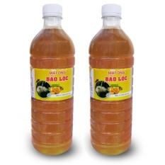Bộ 2 Chai Mật Ong Nguyên Chất Bảo Lộc 1000ml By Cong Ty Tra Xanh Bao Loc.