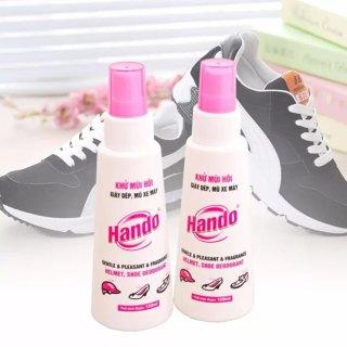 Bộ 2 chai xịt khử mùi đa năng giày dép mũ bảo hiểm 120ml SV497 thumbnail