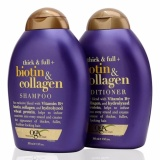 Bán Bộ 2 Dầu Gội Biotin Collagen 385 Ml Thick Full Ogx Trị Rụng Toc Của Mỹ Rẻ Nhất