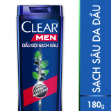 Chiết Khấu Bộ 2 Dầu Gội Clear Men Deep Clean Sạch Sau 180G