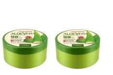Bộ 2 Gel Dưỡng Thể Nha Đam Organia Aloe Vera Soothing Gel 98 2 X 300G Trong Hồ Chí Minh