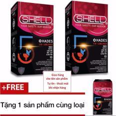 Bán Bộ 2 Hộp Bao Cao Su Keo Dai Thời Gian Quan Hệ Shell Premium 5 In 1 Hộp 10 Chiếc Tặng Sản Phẩm Cung Loại Trực Tuyến Việt Nam