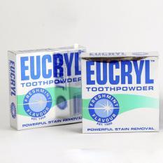 Bộ 2 hộp bột đánh trắng răng EUCRYL