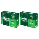 Bán Mua Trực Tuyến Bộ 2 Hộp Ca Phe Giảm Can Silver Crown Green Coffee 2 X 90G