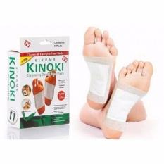 Hình ảnh Bộ 2 Hộp Miếng dán chân giải độc Kinoki Hữu ích ( 20 miếng / 2 hộp )