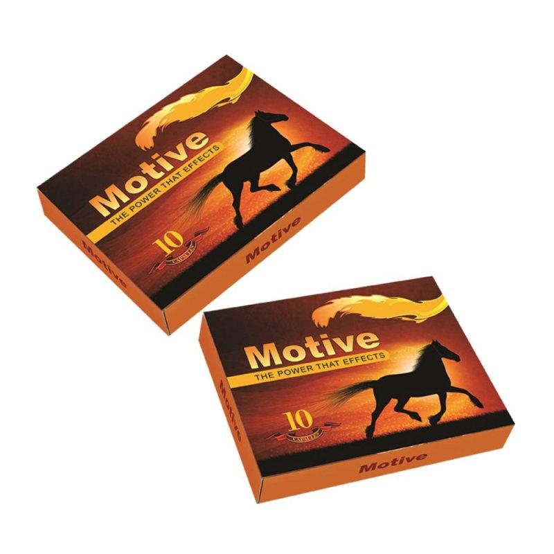 Bộ 2 hộp Motive 10 viên Bản Lĩnh Cho Phái Mạnh