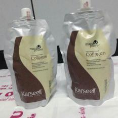 Giá Bán Bộ 2 Kem Hấp Phục Hồi Toc Collagen L M 2017 Karseell Nguyên